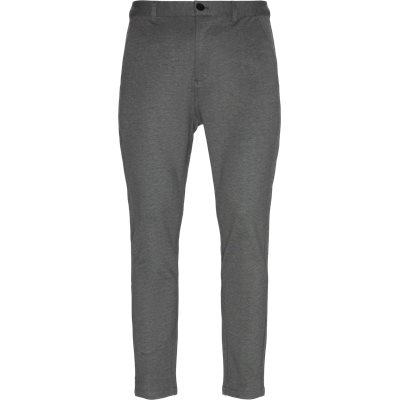 Escape Plain Pants Tapered fit | Escape Plain Pants | Grå