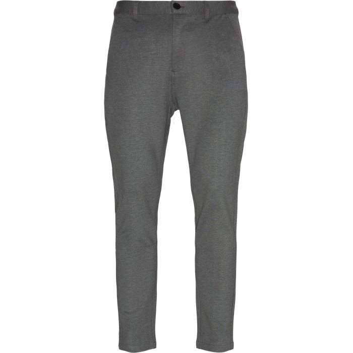 Trousers - Tapered fit - Grey