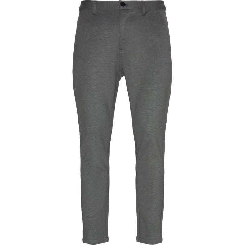 just junkies Just junkies escape plain pants grå på quint.dk
