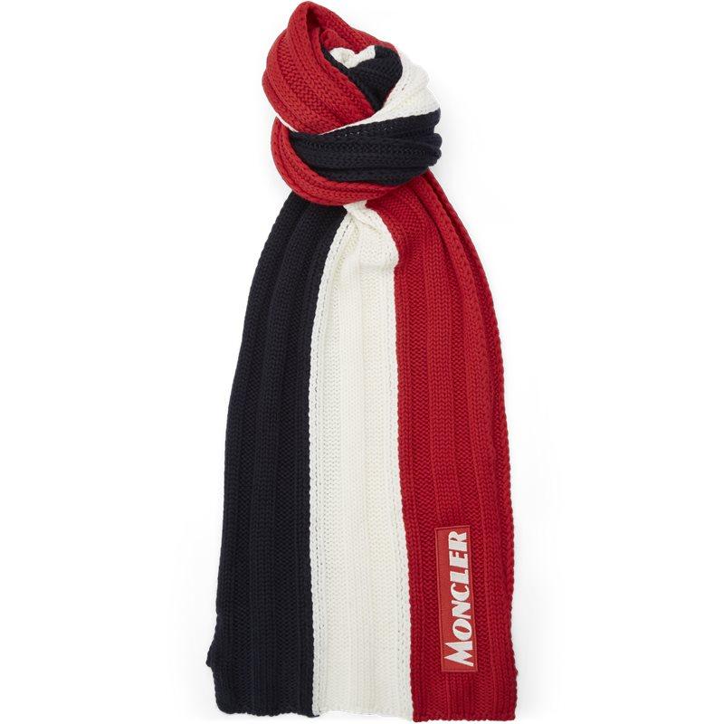 Billede af Moncler 99033 00 A9090 Tørklæder Navy/rød