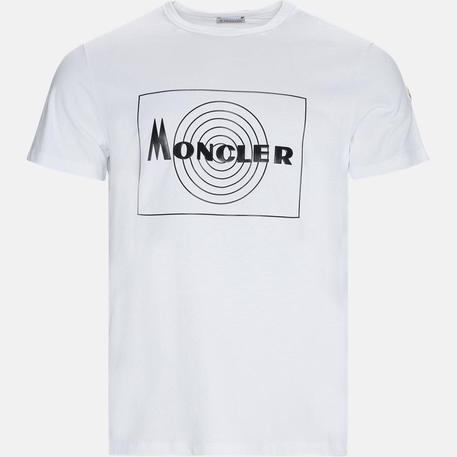 80485 50 839T  - T-shirts - WHITE - 1