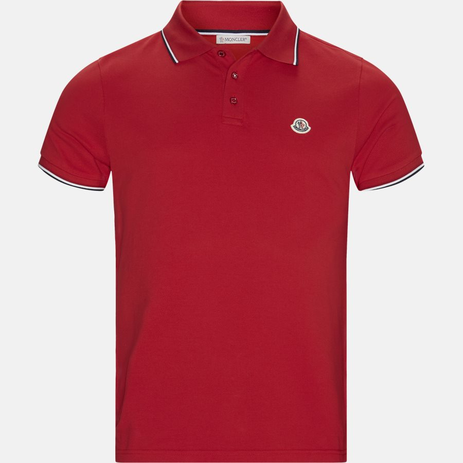84456 00 84556 19 - T-shirts - Regular fit - RED - 1
