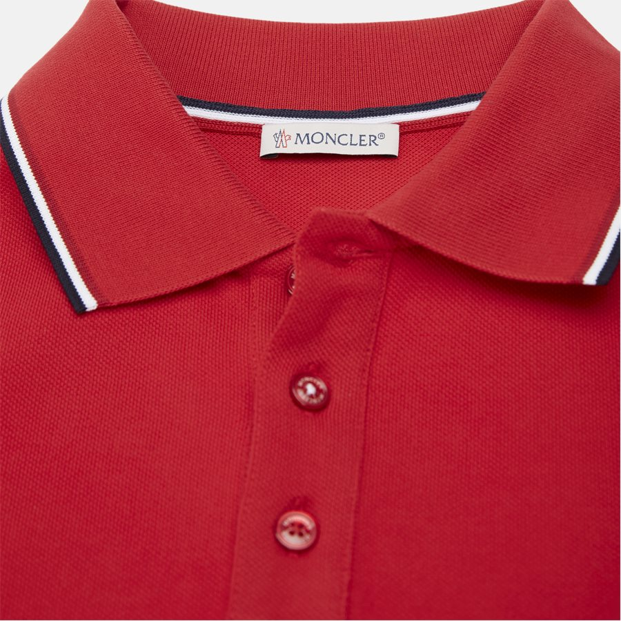 84456 00 84556 19 - T-shirts - Regular fit - RED - 3