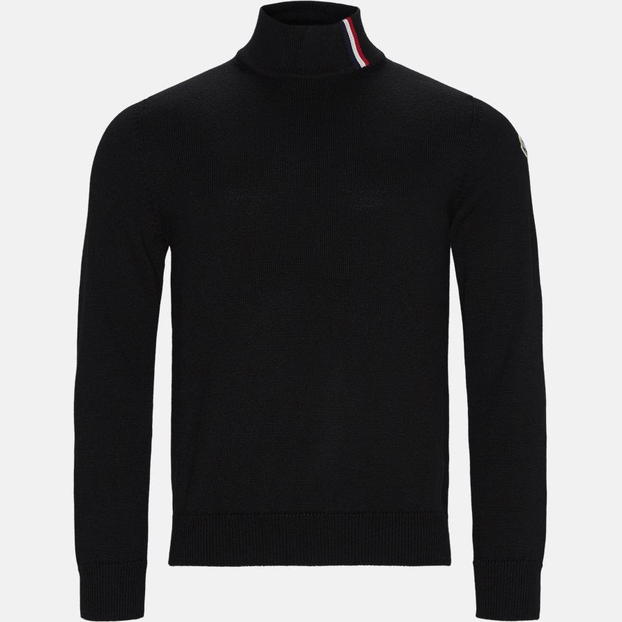 92043 00 A9204 - Knitwear - Regular fit - BLACK - 1