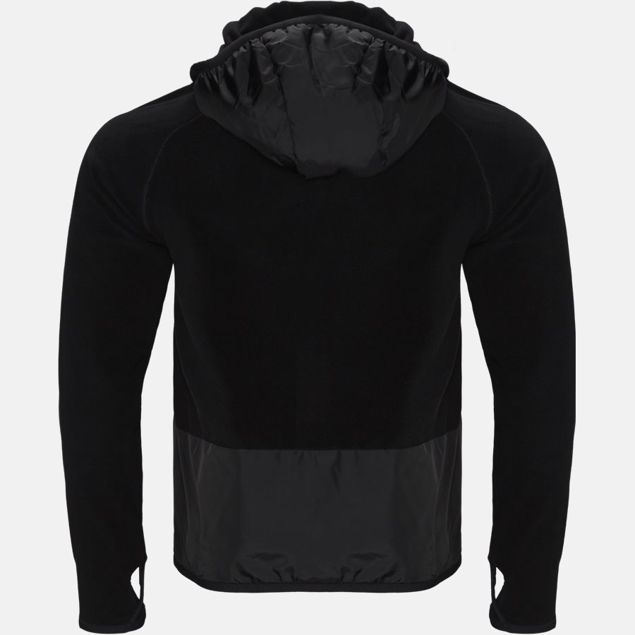84008 00 80093 - Sweatshirts - Regular fit - BLACK - 2