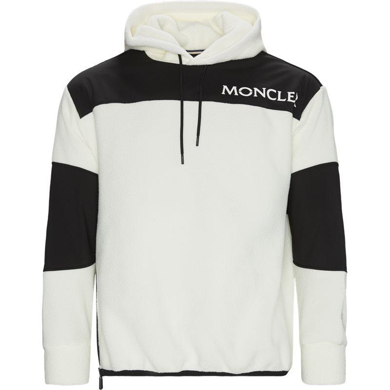 moncler grenoble – Moncler grenoble regular fit 80015 50 c8013 sweatshirts white/black fra axel.dk