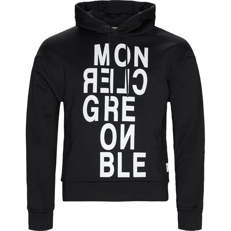 moncler grenoble Moncler grenoble regular fit 80016 50529eq sweatshirts sort fra axel.dk