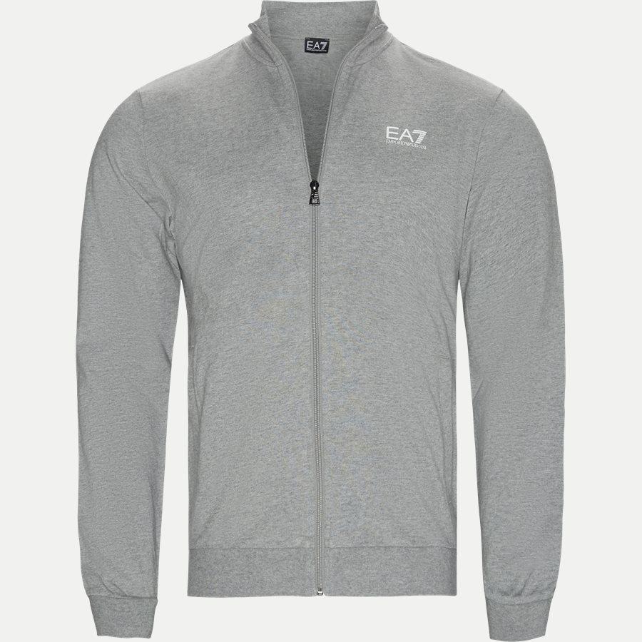 3GPV51 PJ05Z - Zip Sweatshirt - Sweatshirts - Regular - GRÅ - 1