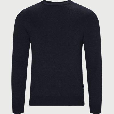 Nichols Striktrøje Regular | Nichols Striktrøje | Blå