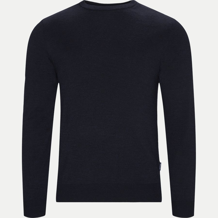 T65454 NICHOLS - Nichols Striktrøje - Strik - Regular - NAVY - 1