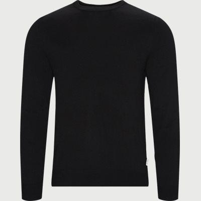 Nichols Striktrøje Regular | Nichols Striktrøje | Sort