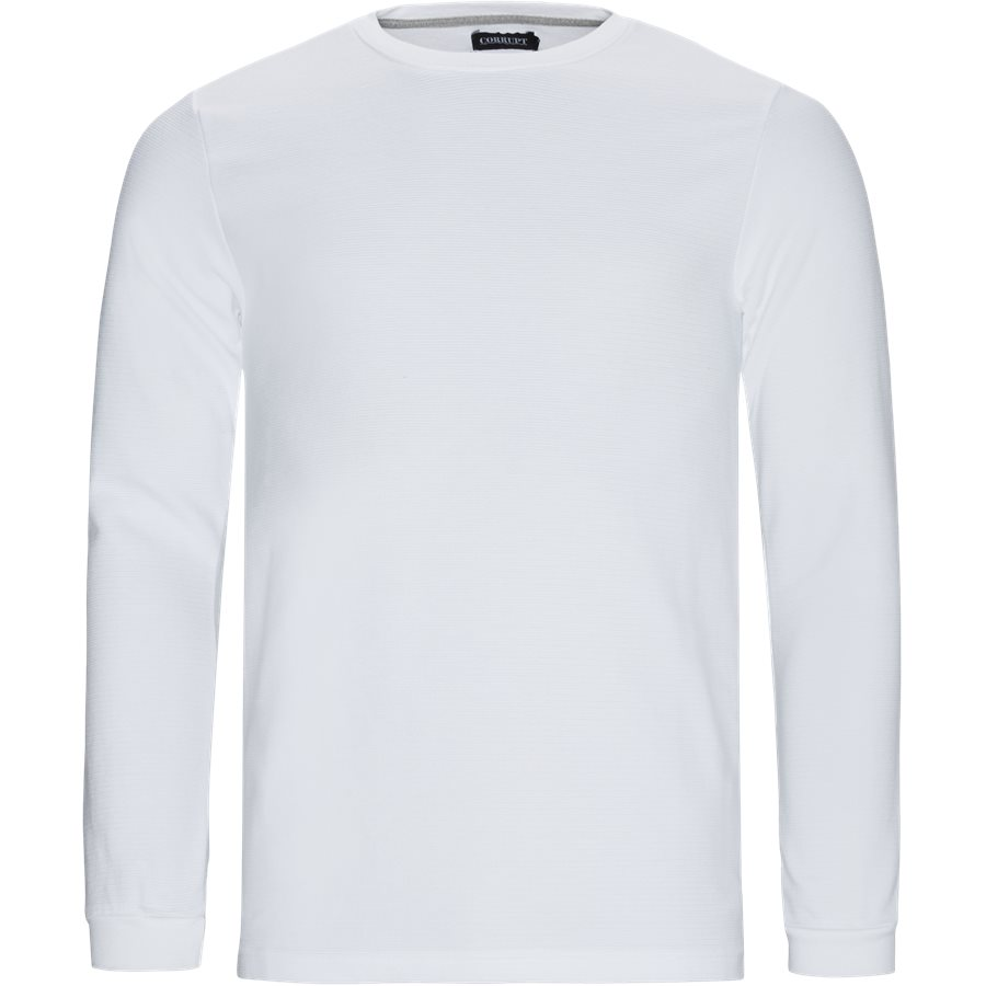 PERTH - Perth LS Tee - T-shirts - Regular - HVID - 1