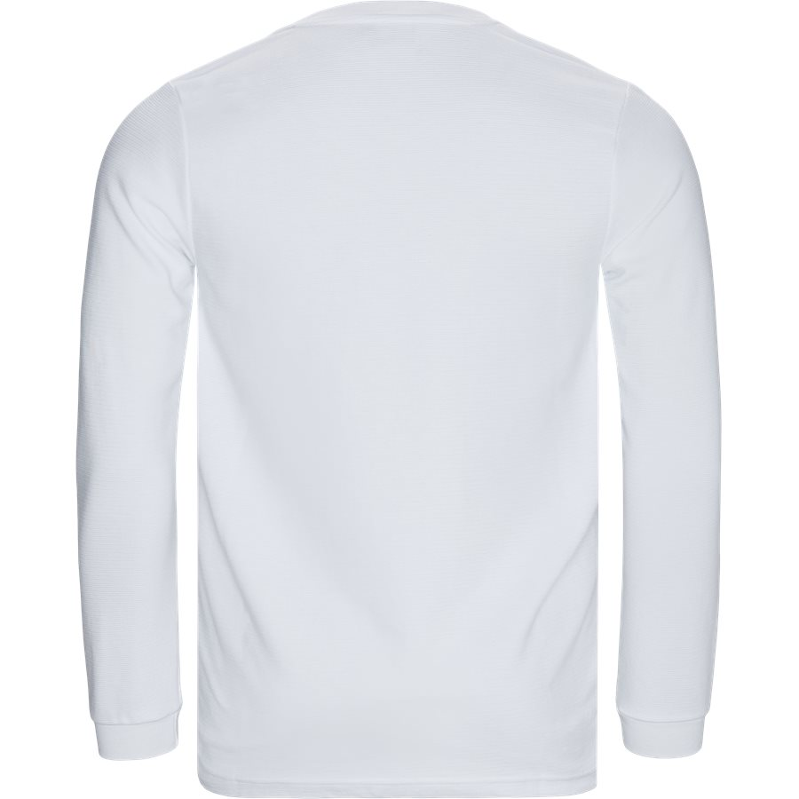 PERTH - Perth LS Tee - T-shirts - Regular - HVID - 2