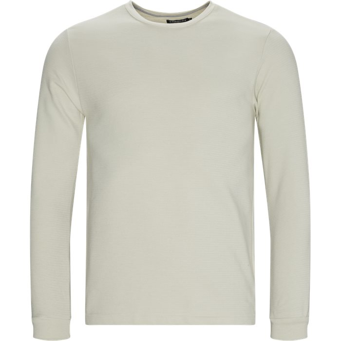 Perth LS Tee - T-shirts - Regular - Sand