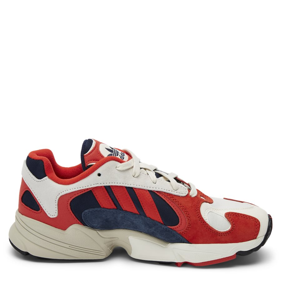 YUNG-1 B37615 - Yung-1 Sneaker - Sko - HVID/RØD - 2