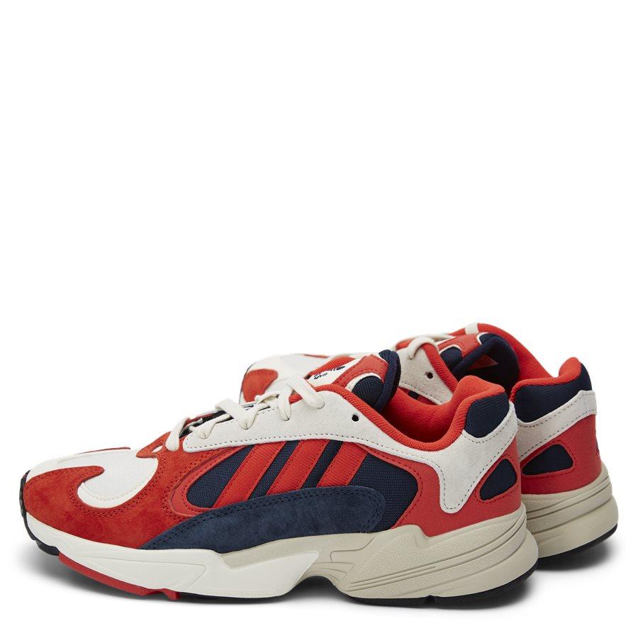YUNG-1 B37615 - Yung-1 Sneaker - Sko - HVID/RØD - 3