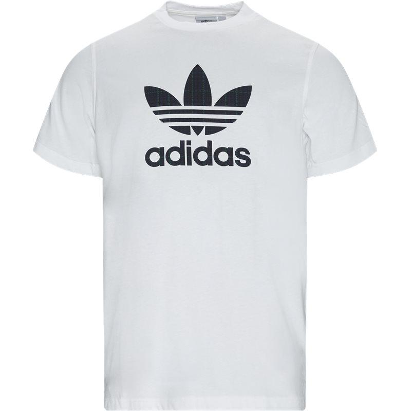 Image of   Adidas Originals Tartan Infill Tee Hvid