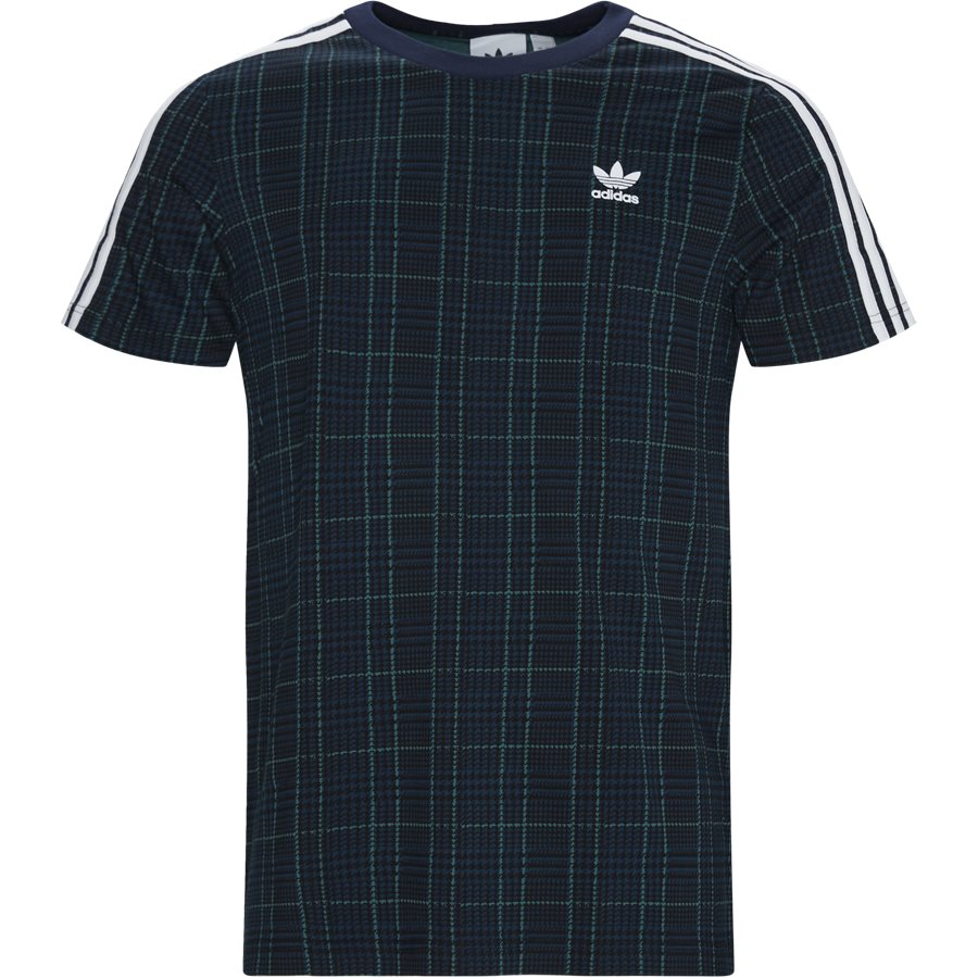 TARTAN TEE ED7034 - T-shirts - Regular - MULTI - 1