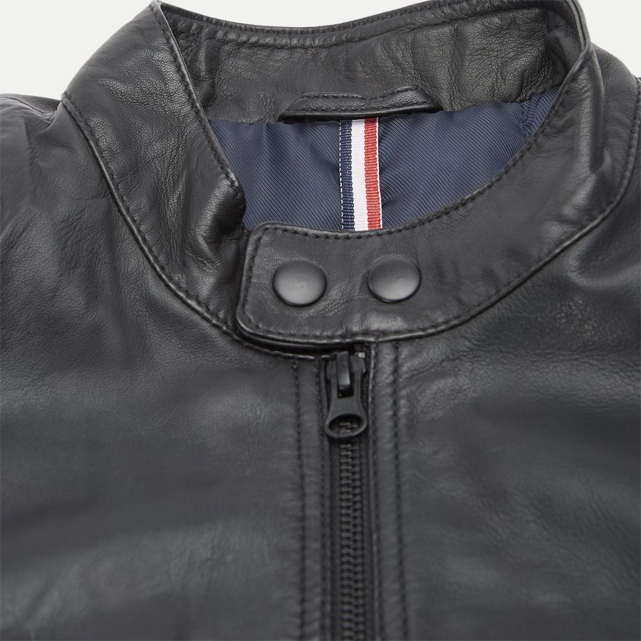 GERRARD - Gerrard Skindjakke - Jakker - Regular - BLACK - 5