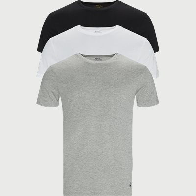 3-Pack Classic Cotton Crewneck T-shirt Slim | 3-Pack Classic Cotton Crewneck T-shirt | Multi