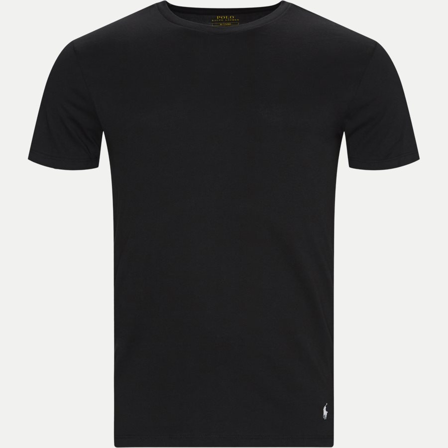 714709274 CREW 3 PACK - 3-Pack Classic Cotton Crewneck T-shirt - Undertøj - Slim - GRÅ/HVID/SORT - 4