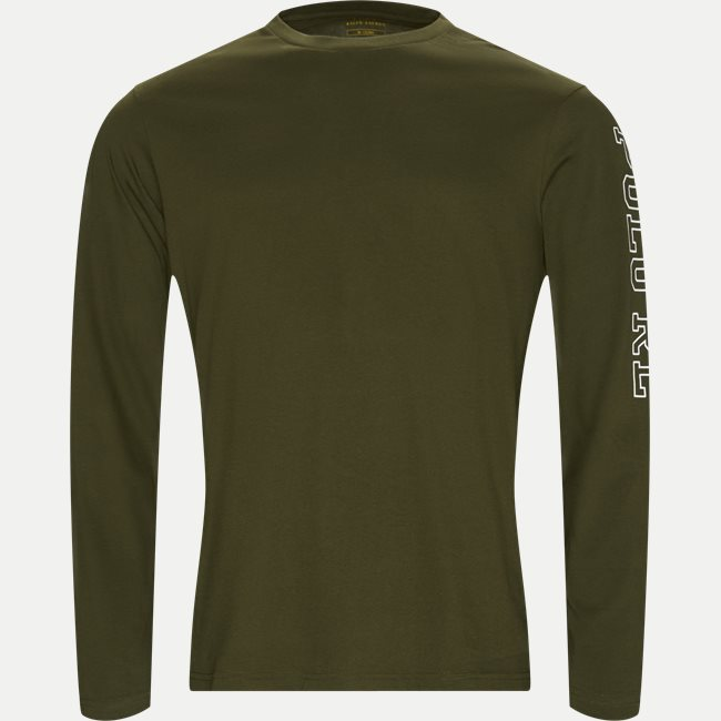 Long Sleeved Crew Neck T-shirt