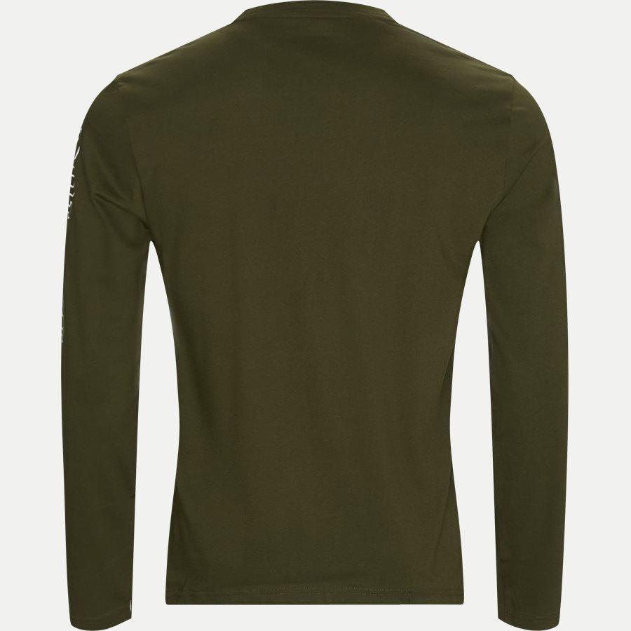 714757467 CREW - Long Sleeved Crew Neck T-shirt - T-shirts - Regular - OLIVEN - 2