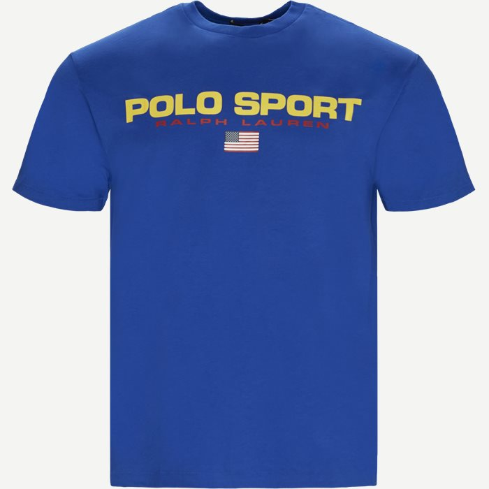 Polo Sport Tee - T-shirts - Regular - Blå