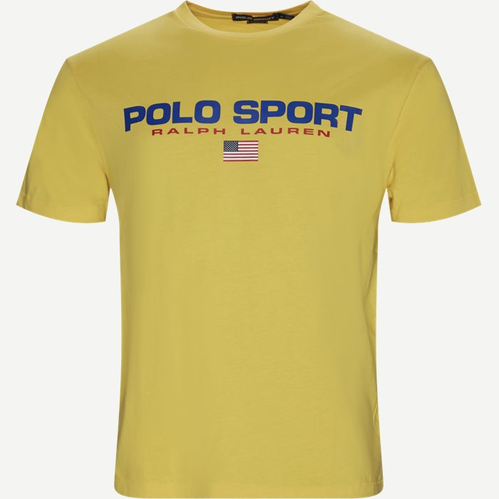Polo Sport Tee - T-shirts - Regular - Gul