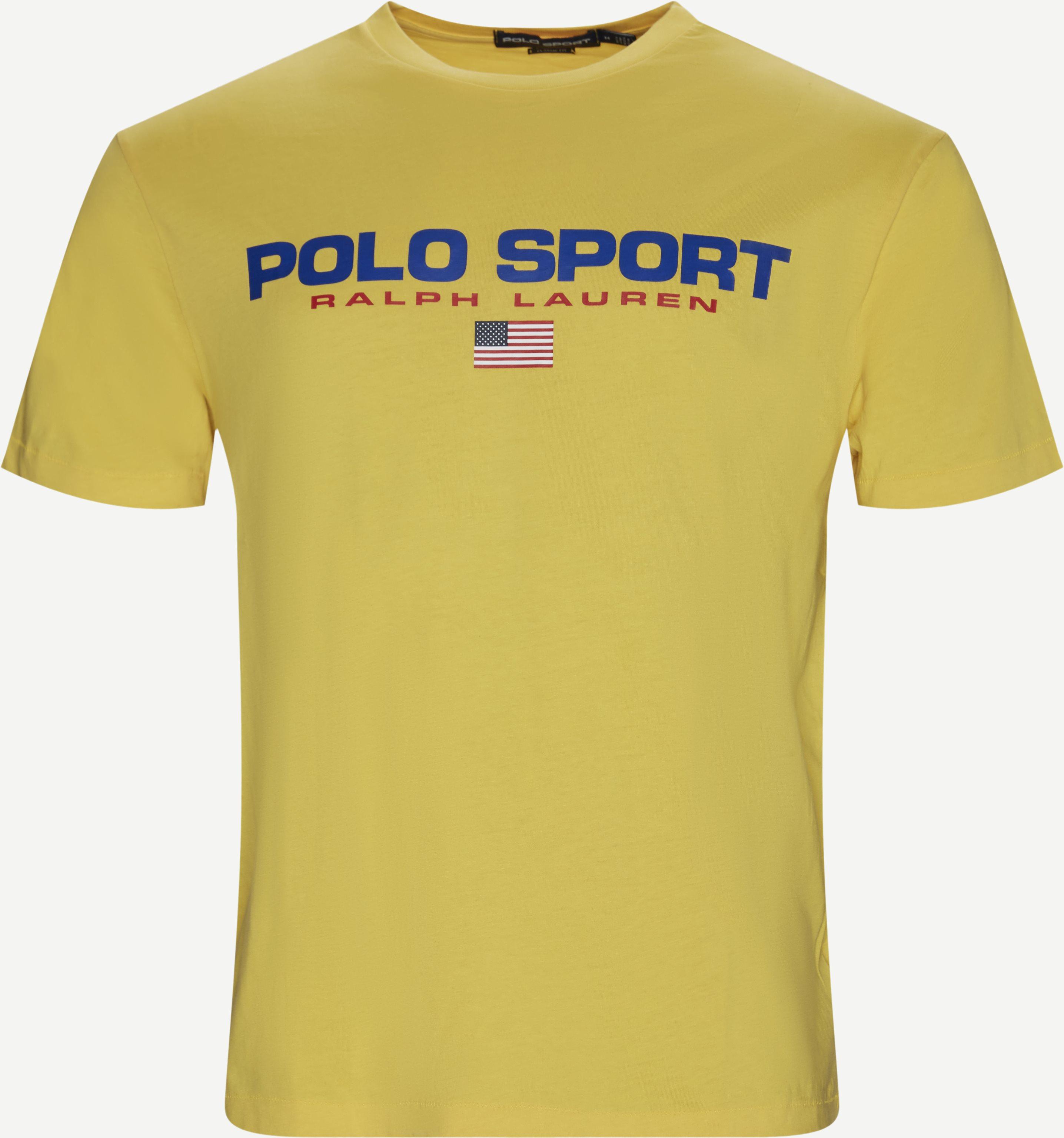 T-shirts - Regular - Yellow