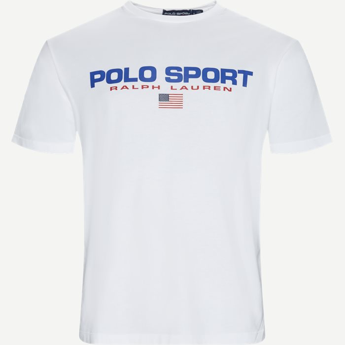 Polo Sport Tee - T-shirts - Regular - Hvid