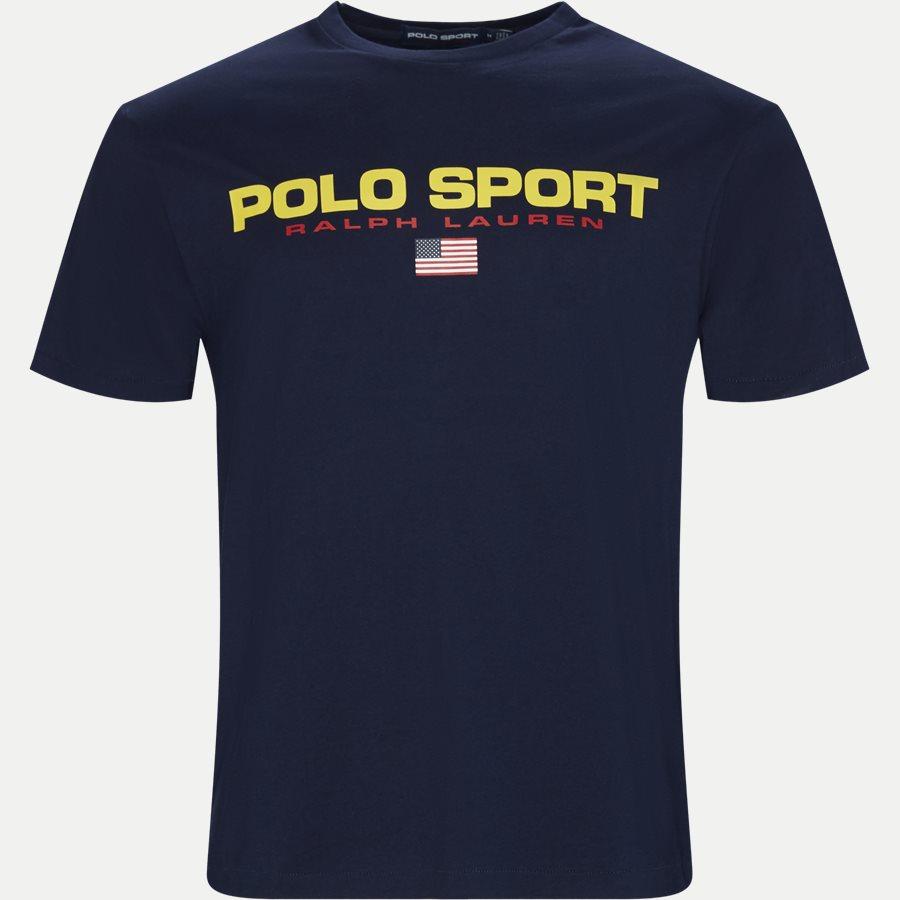 710750444 - Polo Sport Tee - T-shirts - Regular - NAVY - 1