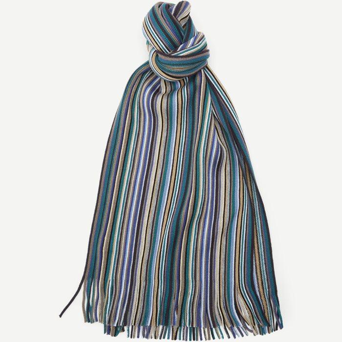 Bastogne Halstørklæde - Tørklæder - Blå