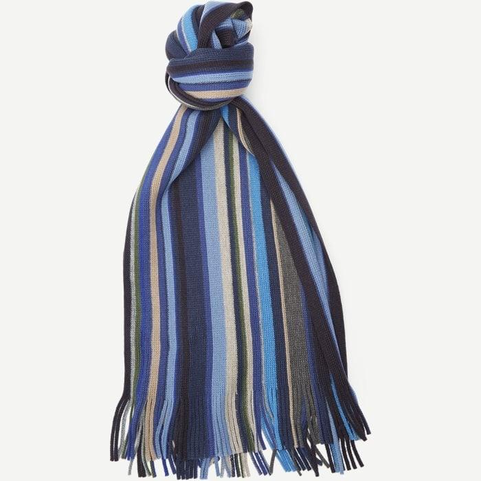 Bruges Halstørklæde - Tørklæder - Blå