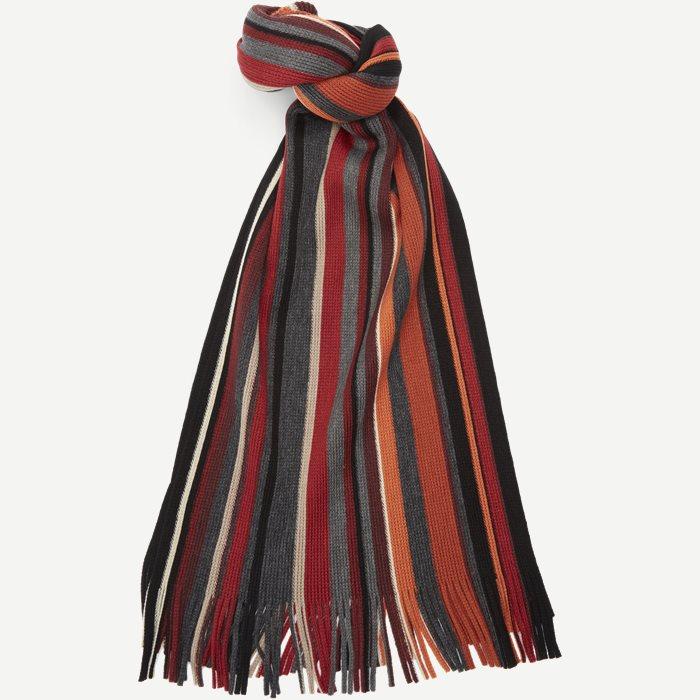 Bruges Halstørklæde - Tørklæder - Rød