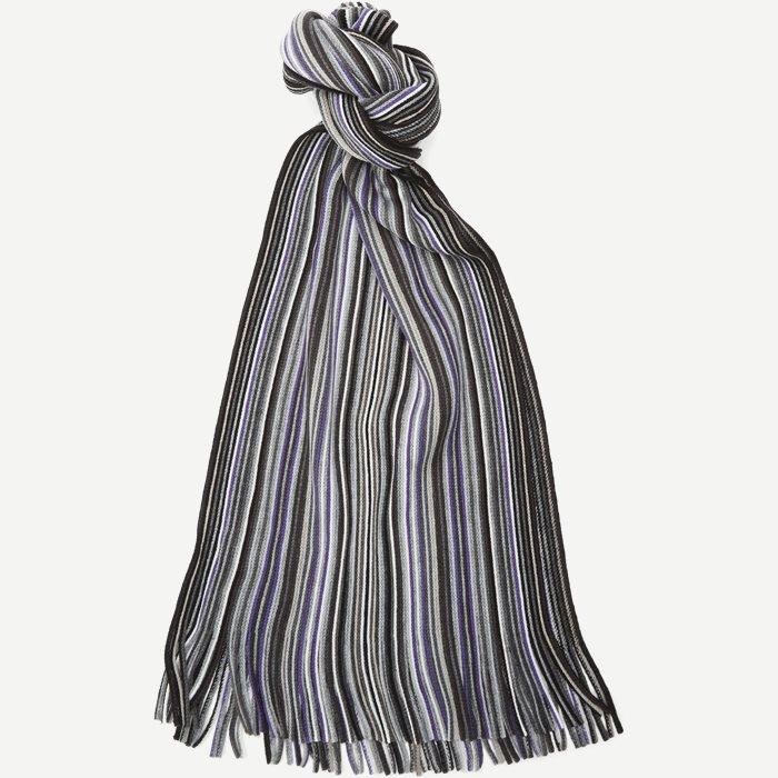 Gent Halstørklæde - Tørklæder - Sort