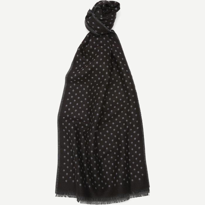 Linz Halstørklæde - Tørklæder - Sort