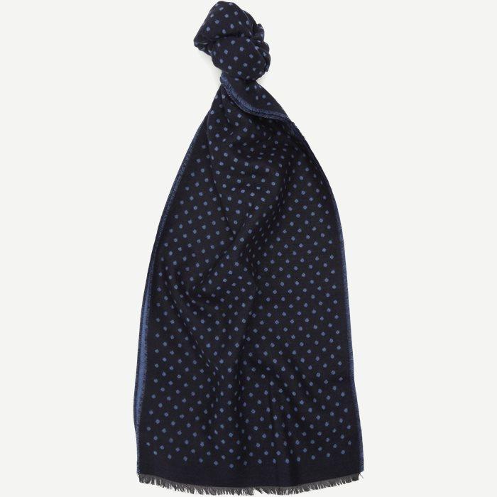 Linz Halstørklæde - Tørklæder - Blå