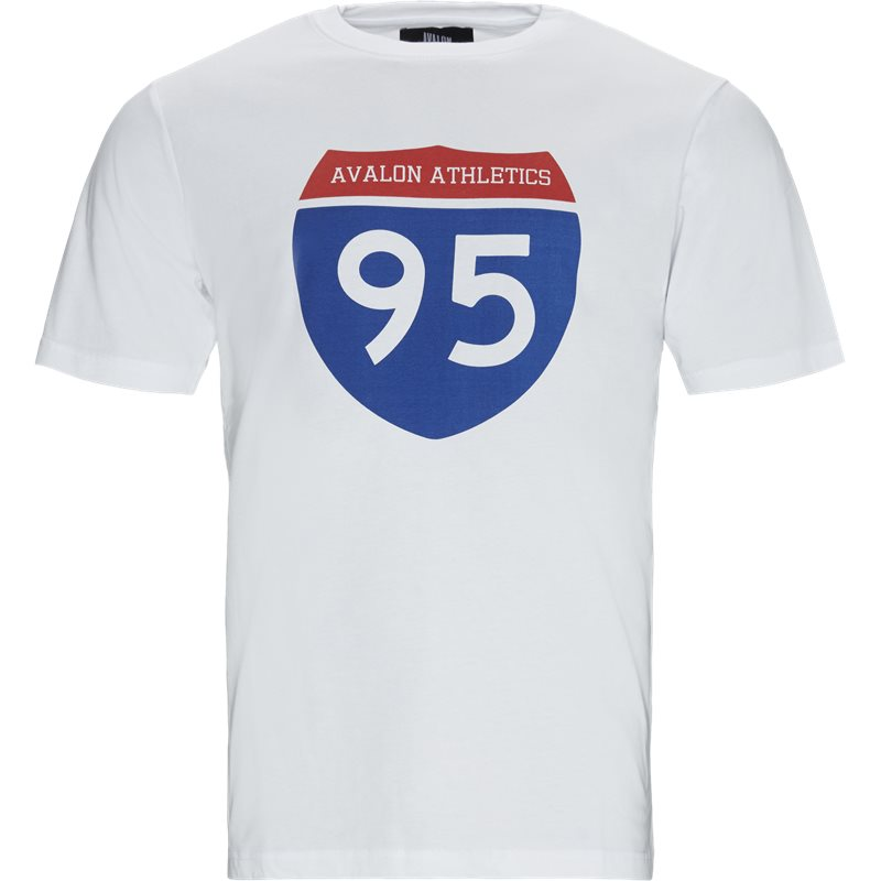 Image of   Avalon Athletics Keys Tee White