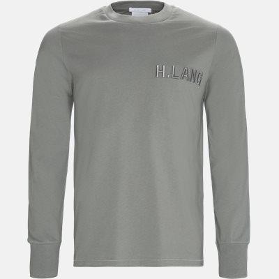 Oversized | Langærmede t-shirts | Grå
