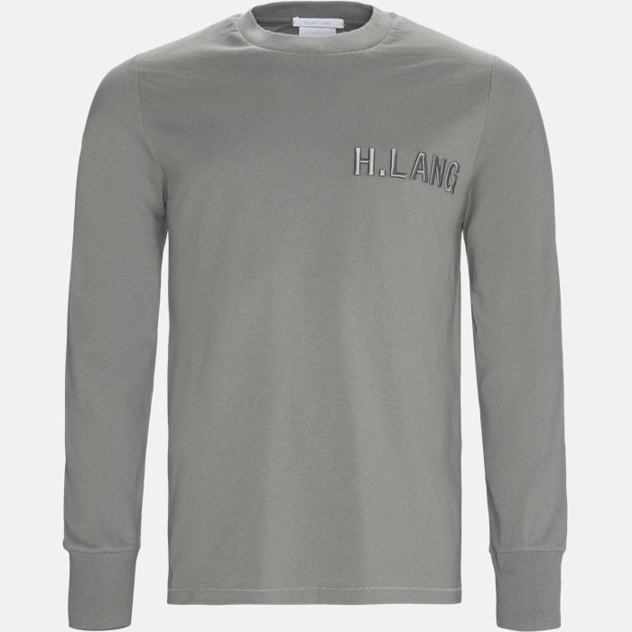 Long-sleeved T-shirts - Oversized - Grey