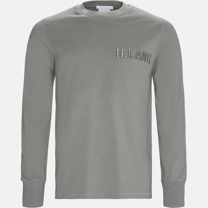 Langærmede T-shirts - Oversized - Grå