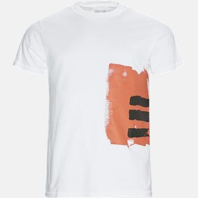Oversized | T-shirts | Hvid