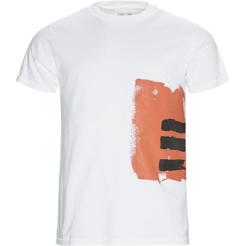 helmut lang Helmut lang oversized j06dm505 t-shirts white fra axel.dk