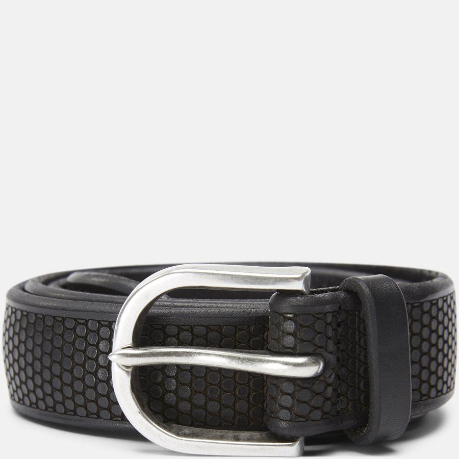 U07860 - Belts - BLACK - 1
