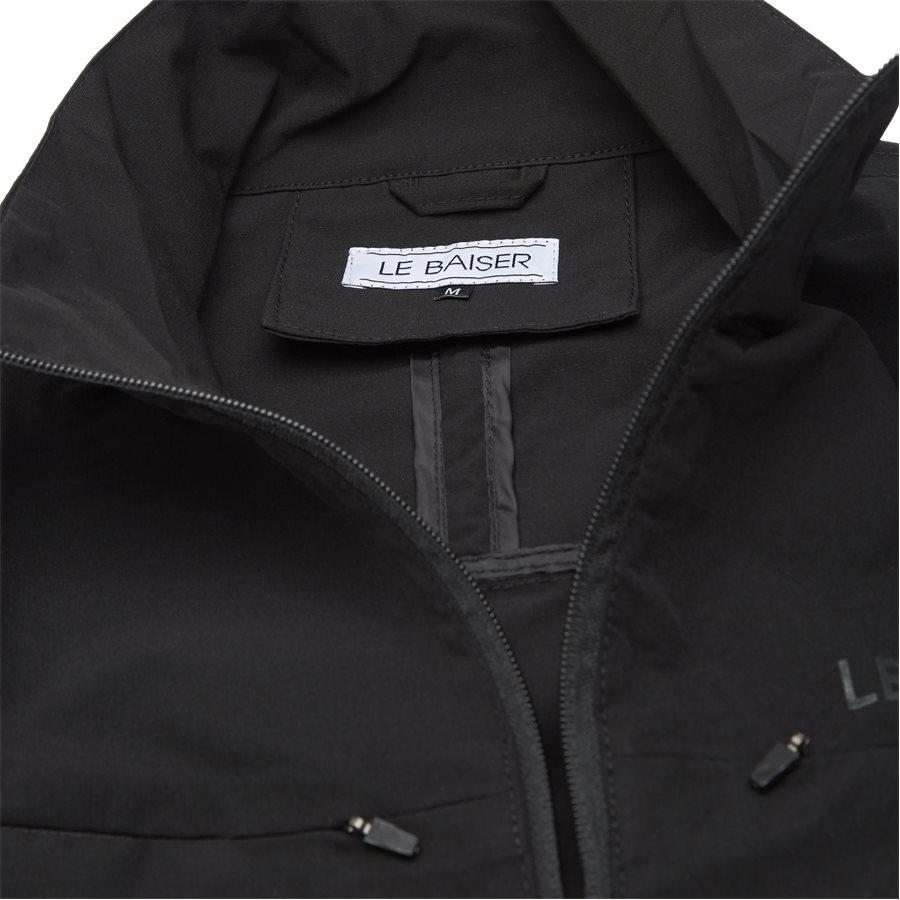 BEAUX - Beaux Jacket - Jakker - Regular - BLACK - 3