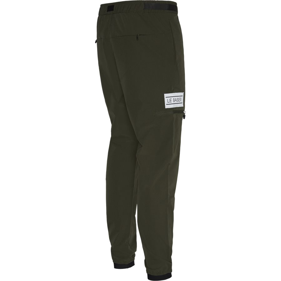 PIERRE - Pierre Pants - Bukser - Tapered fit - ARMY - 3