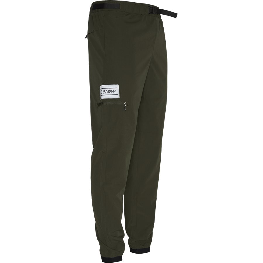 PIERRE - Pierre Pants - Bukser - Tapered fit - ARMY - 4