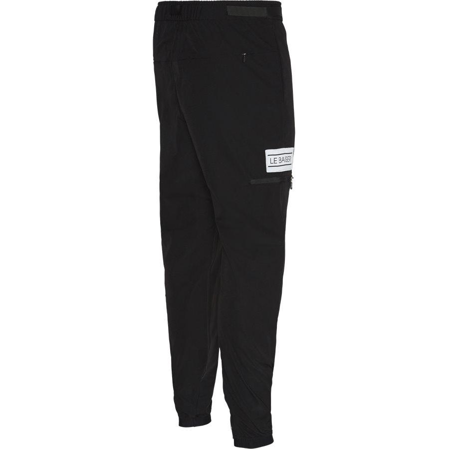 PIERRE - Pierre Pants - Bukser - Tapered fit - BLACK - 3