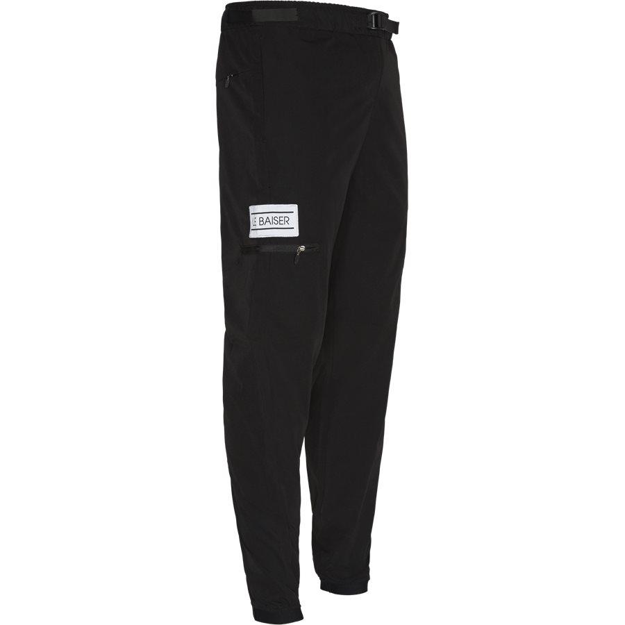 PIERRE - Pierre Pants - Bukser - Tapered fit - BLACK - 4